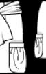 Спідниця міні з об'ємними кишенями  - фото 3