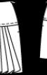 Спідниця міні на кокетці - фото 3