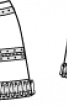 Міні-спідниця з металевим декором - фото 3