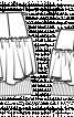 Спідниця міні з декором - фото 3