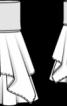 Спідниця двошарова на кокетці - фото 3