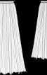 Спідниця плісе з креп-жоржету - фото 3