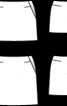 Спідниця міні з рогожки - фото 3