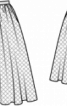 Спідниця пишна багатошарова - фото 3