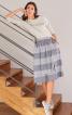 Спідниця з асиметричним полотнищем - фото 1