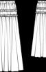 Спідниця максі з рюшами - фото 3