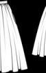 Спідниця твідова пишного крою - фото 3