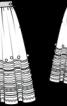 Спідниця пишного крою в етно-стилі - фото 3