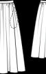 Спідниця шерстяна пишного крою - фото 3