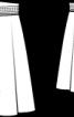 Спідниця розкльошеного силуету з декором - фото 3