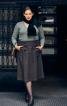 Спідниця А-силуету на широкому поясі - фото 1
