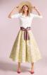 Спідниця-сонце в стилі 50-х - фото 1