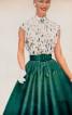 Спідниця-сонце в стилі 50-х - фото 4