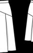 Спідниця з геометричною кокеткою - фото 3