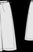 Спідниця двошарова зі зборкою на талії - фото 3