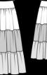Спідниця довга в стилі хіпі - фото 3