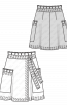 Спідниця шкіряна довжини міні - фото 3