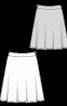 Спідниця розкльошеного силуету на фігурному поясі - фото 3