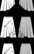 Спідниця двошарова з асиметричним низом - фото 3