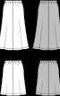 Спідниця годе на розтяжному поясі - фото 3
