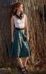 Спідниця-сонце на репсовій стрічці - фото 1