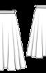 Спідниця-сонце на репсовій стрічці - фото 3
