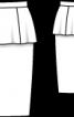 Спідниця-олівець з баскою - фото 3