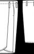 Спідниця довжини міді з ременем - фото 3