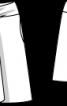Спідниця А-силуету з рогожки - фото 3