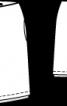 Спідниця двошарова з ефектом запаху - фото 3