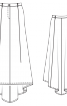 Спідниця зі шлейфом - фото 3