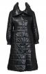 Пальто стьобане приталеного крою - фото 2