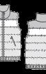 Жилет стьобаний з коміром-стойкою - фото 3