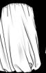 Сукня-балон з ременем - фото 3