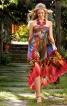 Сукня-бандо з асиметричною спідницею  - фото 1
