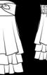 Сукня-бандо з пишною спідницею - фото 3