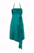 Сукня силуету ампір з бретеллю-петлею і воланом - фото 2