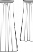 Сукня довга без бретелей - фото 3