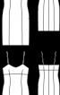 Нижня сукня-чохол на бретелях - фото 3