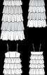 Сукня максі з каскадом оборок - фото 3