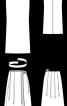 Сукня з бретеллю на одне плече - фото 3