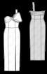 Сукня вечірня з відкритими плечима - фото 3