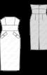 Сукня-бюстьє з широким вшивним поясом - фото 3