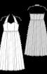 Сукня вечірня з ліфом-корсажем - фото 3