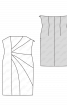 Сукня-бюстьє з рельєфними деталями крою - фото 3