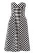 Сукня-бюстьє зі спідницею А-силуету - фото 2