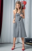 Сукня-бюстьє зі спідницею А-силуету - фото 1