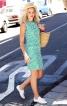 Сукня міні приталеного крою - фото 1