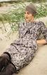 Сукня-футляр з воланом на ліфі - фото 1
