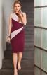 Сукня-футляр з фігурними вставками - фото 1